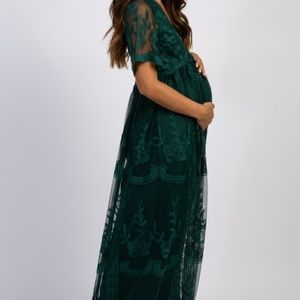 Maternity Floor Length Dress